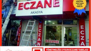 istanbul eczane tabelacı