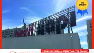 Beşik Yapı Çatı Tabelası (İstanbul Tabelacı)