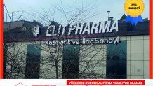 Elit Pharma Çatı Tabelası